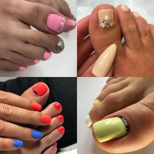 Pedicure Gelish at reconnect day spa
