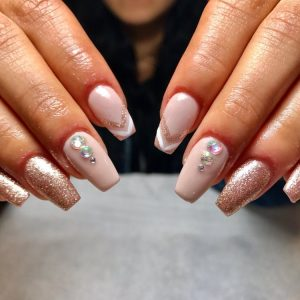 Gelish nails at reconnect day spa