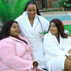 spa party package for 3 people