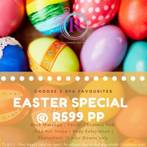 Easter spa special