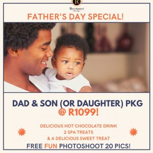 father's day spa special